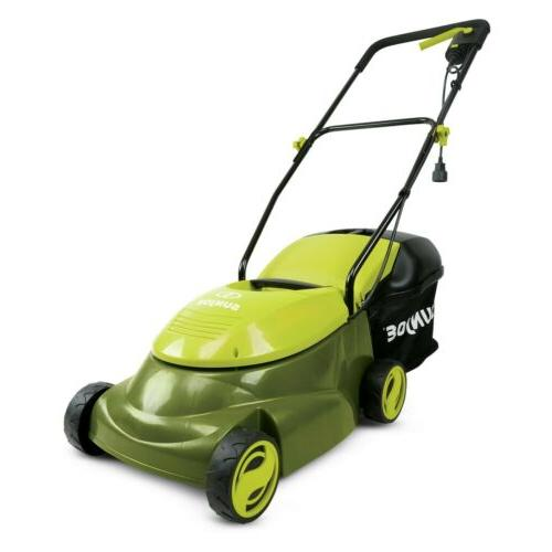 mj401e electric lawn mower 14 inch 12