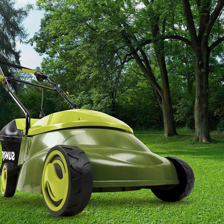 Sun Joe inch 13 Amp Electric Lawn Mower Chute