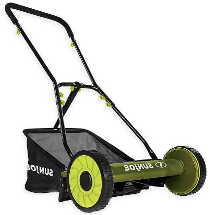 mj500m 16 inch reel lawn mower w