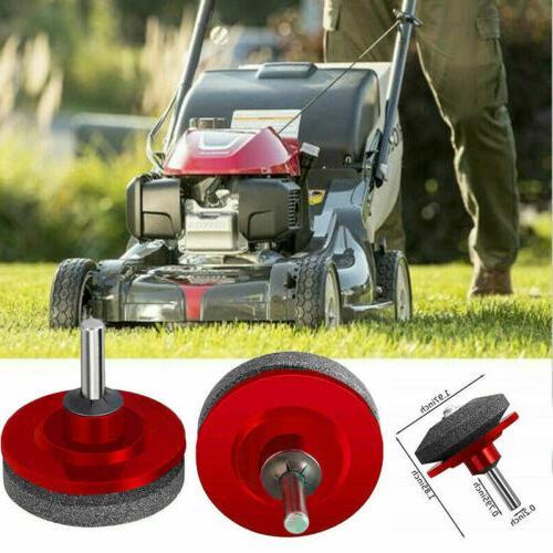 Universal Lawn Mower Blade Sharpener Grinding Power Drill