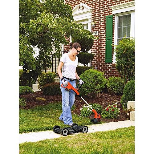 BLACK+DECKER MAX Lithium Trimmer/Edger and Mower