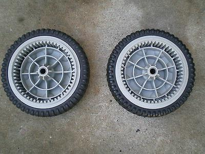 OEM troybilt front drive self propel wheel lawnmower wheels