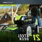 Greenworks PRO 21Inch 80V Cordless Lawn Mower GLM801601 2/4A