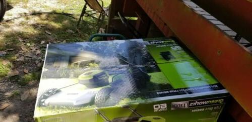 Greenworks Pro 60V Mower MO60L510 w/Battery