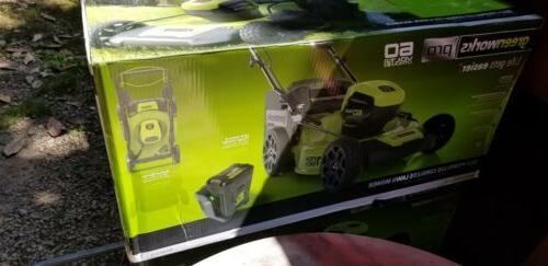 "Greenworks Pro 21"" Brushless Self Mower"