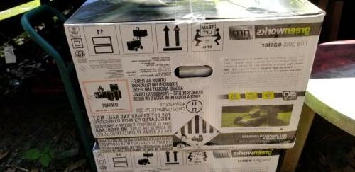 Greenworks 60V Brushless Lawn Mower MO60L510 w/Battery