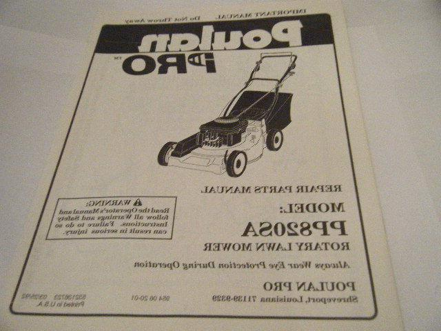 pro new pp820sa rotary lawn mower repair
