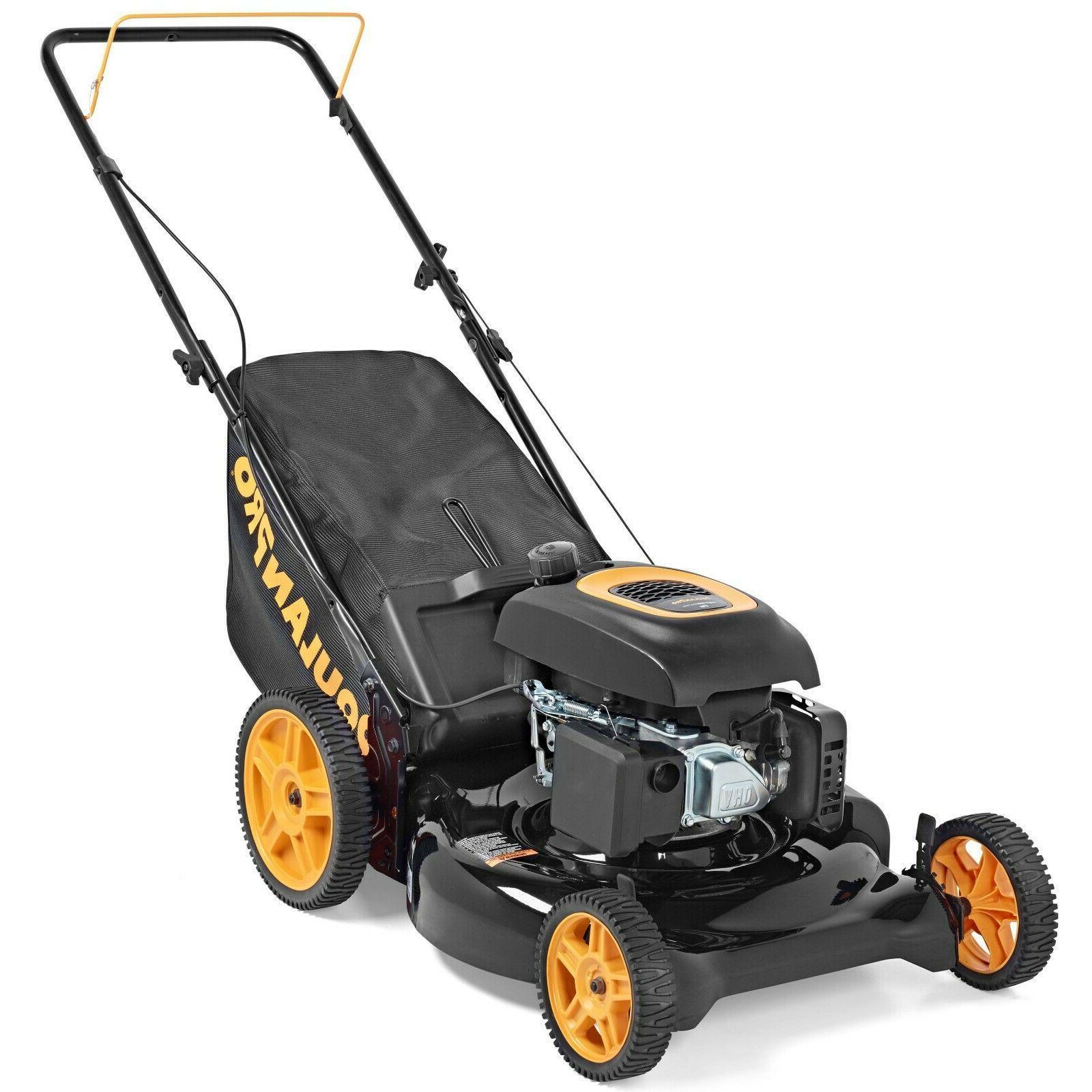 Push Gas Lawn Mower 21 in. 174cc Power Series Gas 3-N-1 Cutt
