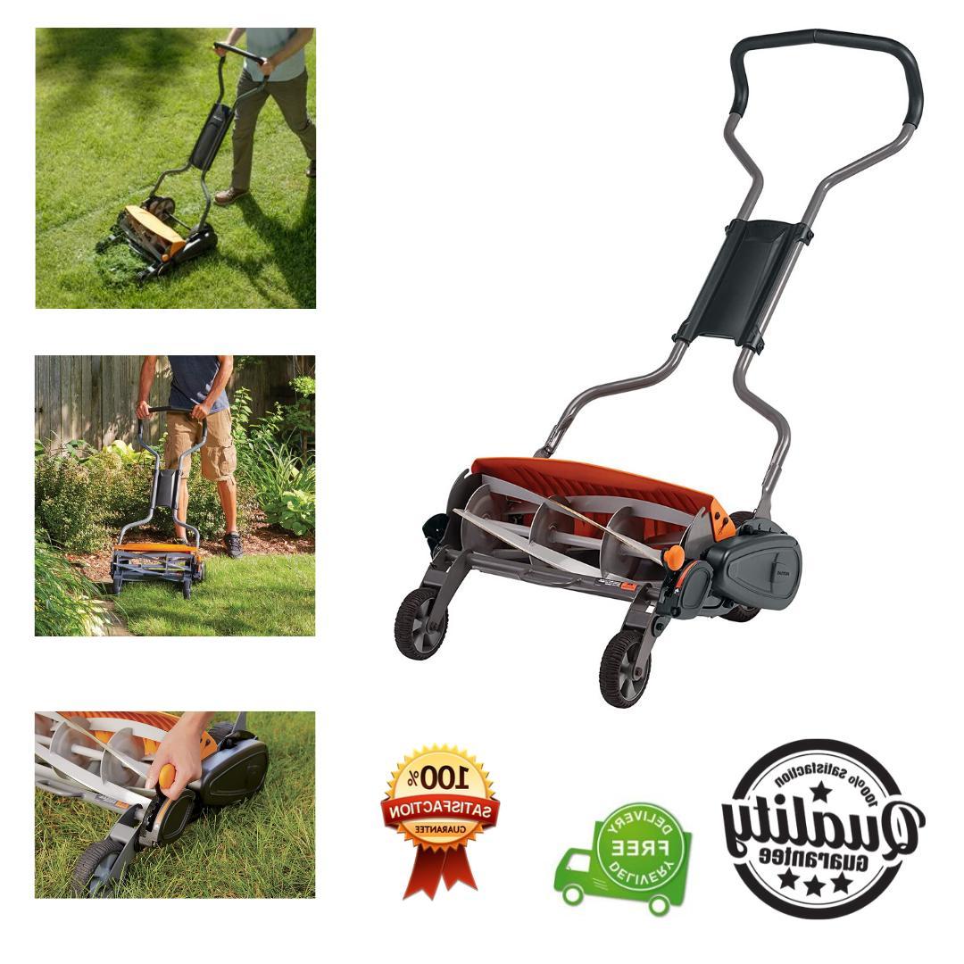 reel lawn mower 18 inch lawnmower all