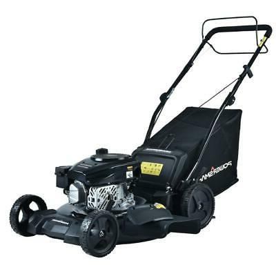 PowerSmart Self Propelled Lawn Mower 21 in. 170 cc Gas Bagge