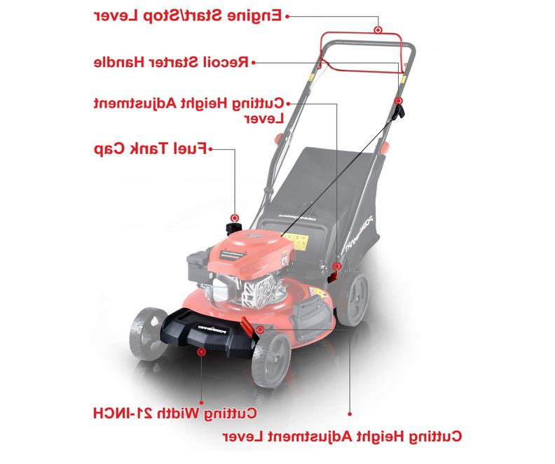 "Self Propelled Walk Lawn Lightweight 21"" 170cc New"