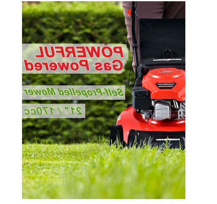 "Self Lawn Mower 21"" Gas New"