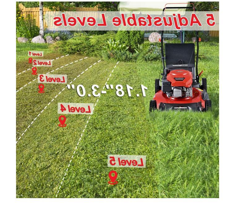 """Self Walk Lawn Mower 21"""" 170cc New"""