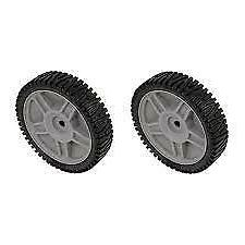 Set Of 2 Husqvarna AYP OEM Lawn Mower Wheels 581009202 19391