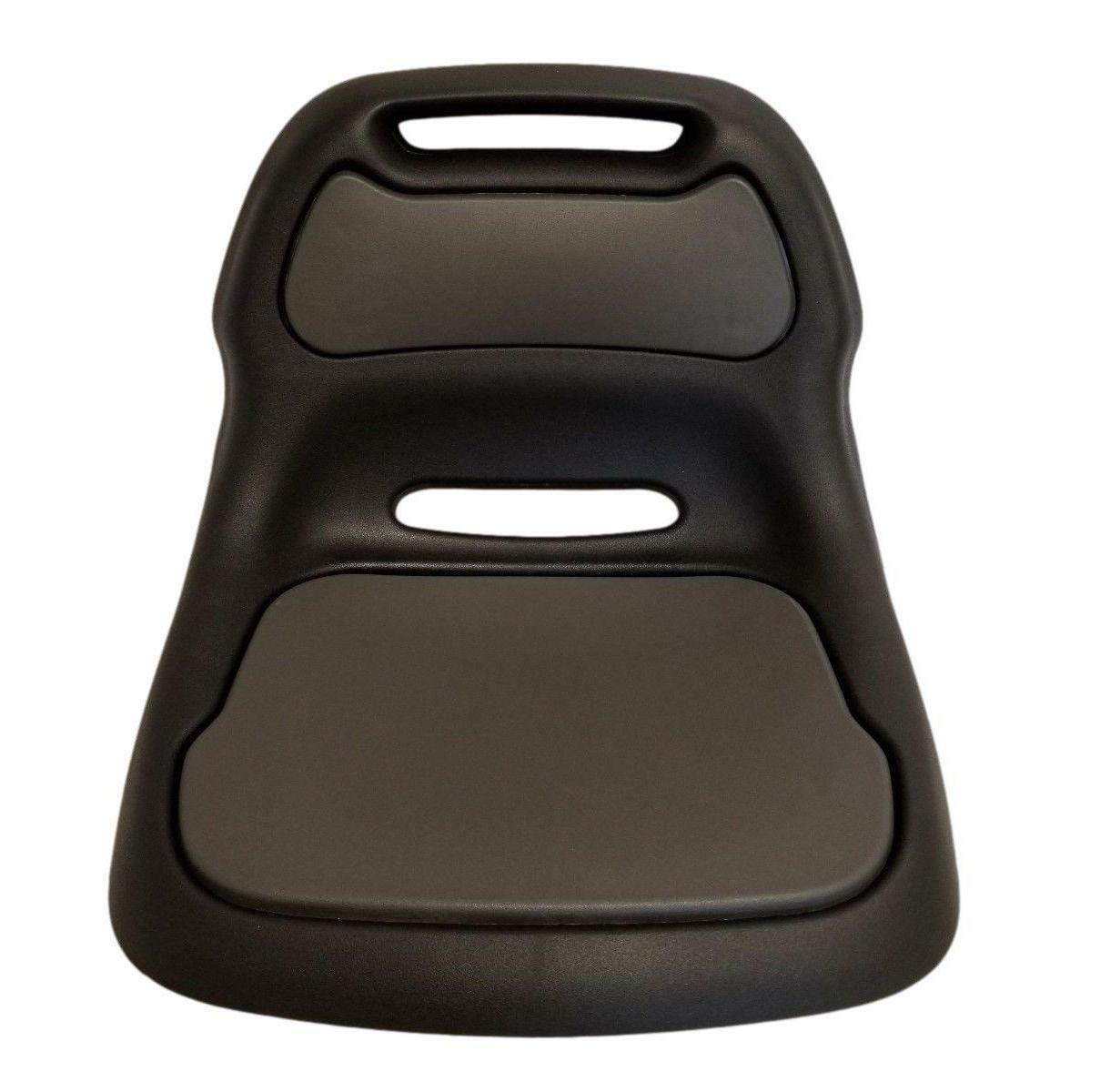 Sturdy Plastic Craftsman Black Lawn Seat Back Sears