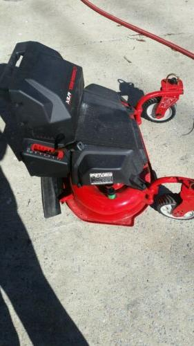 troy bilt flex 28 in lawn mower