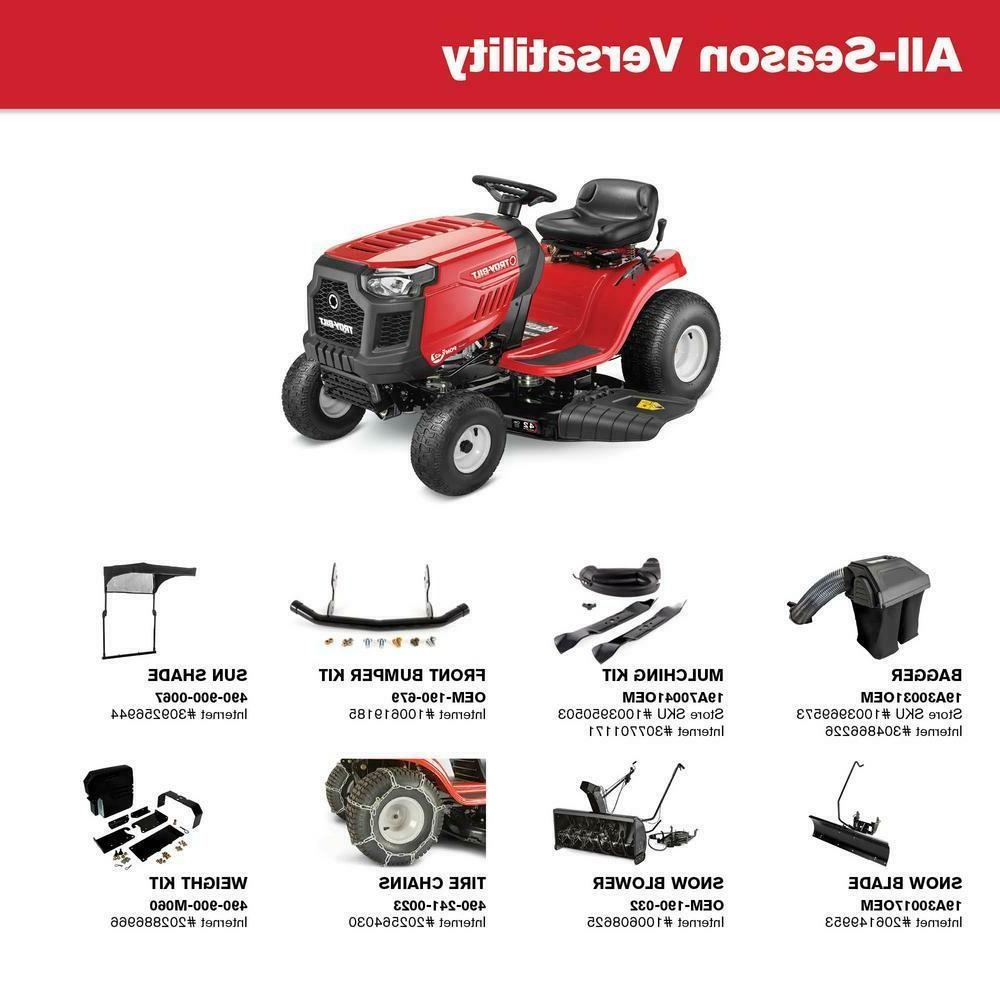 Troy-Bilt Manual and Tractor speed
