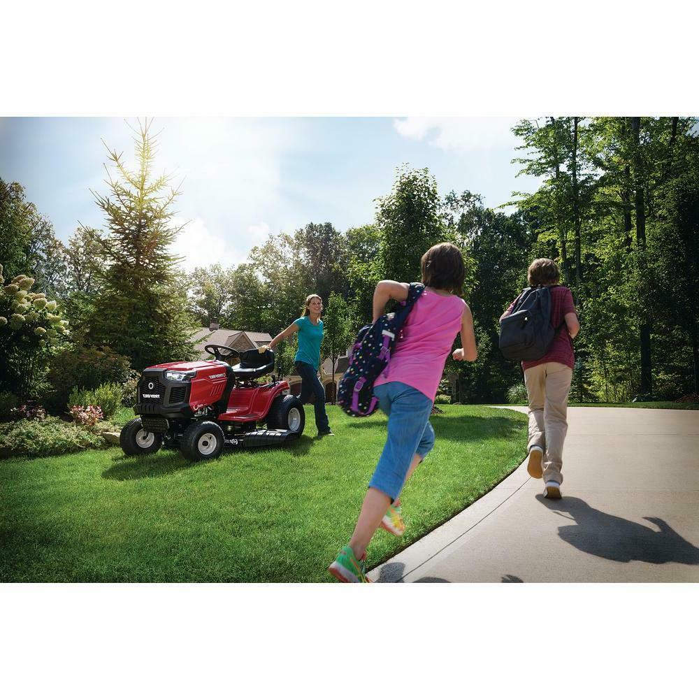 Troy-Bilt Drive and Gas speed