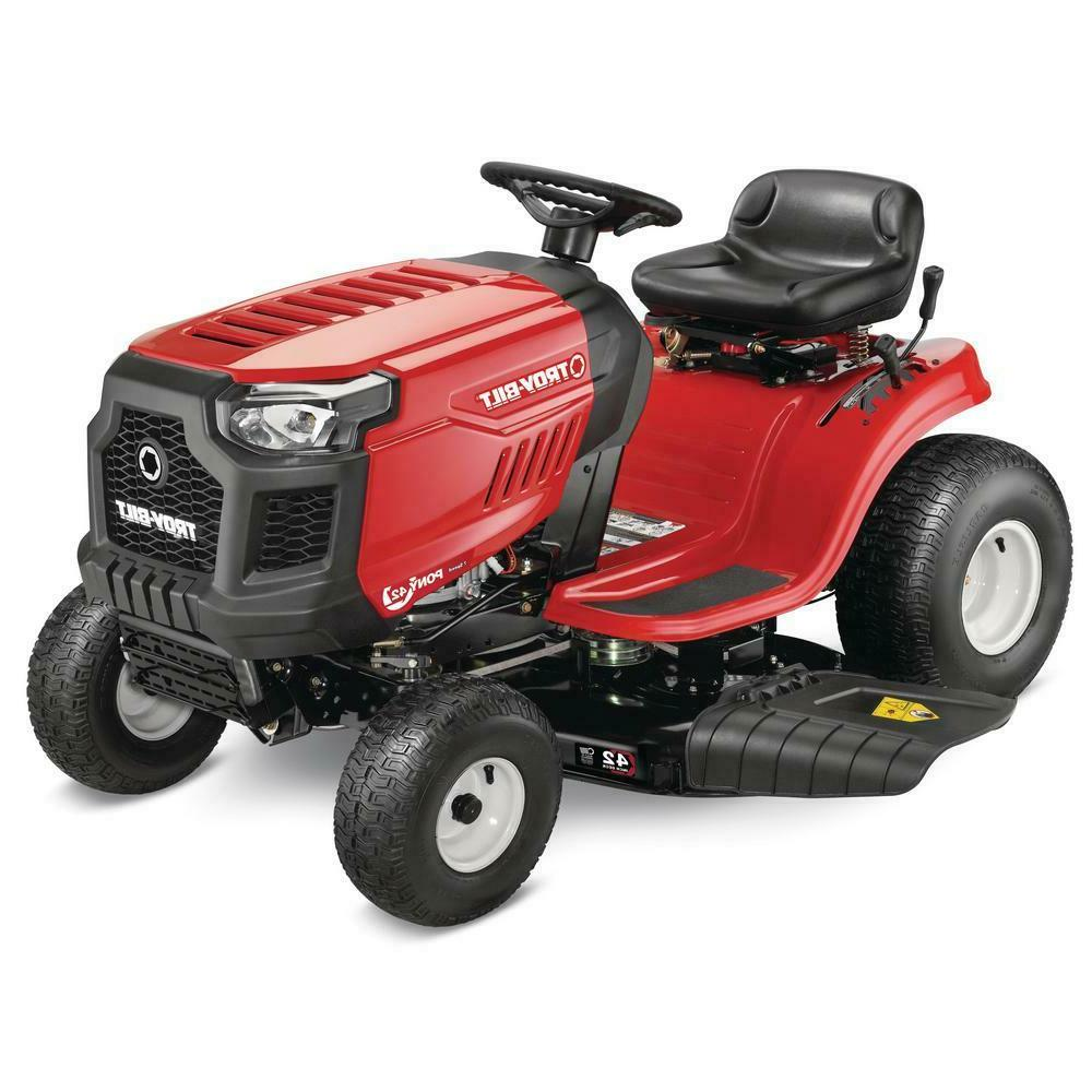 Troy-Bilt Manual Drive and Lawn Tractor Riding Mower speed