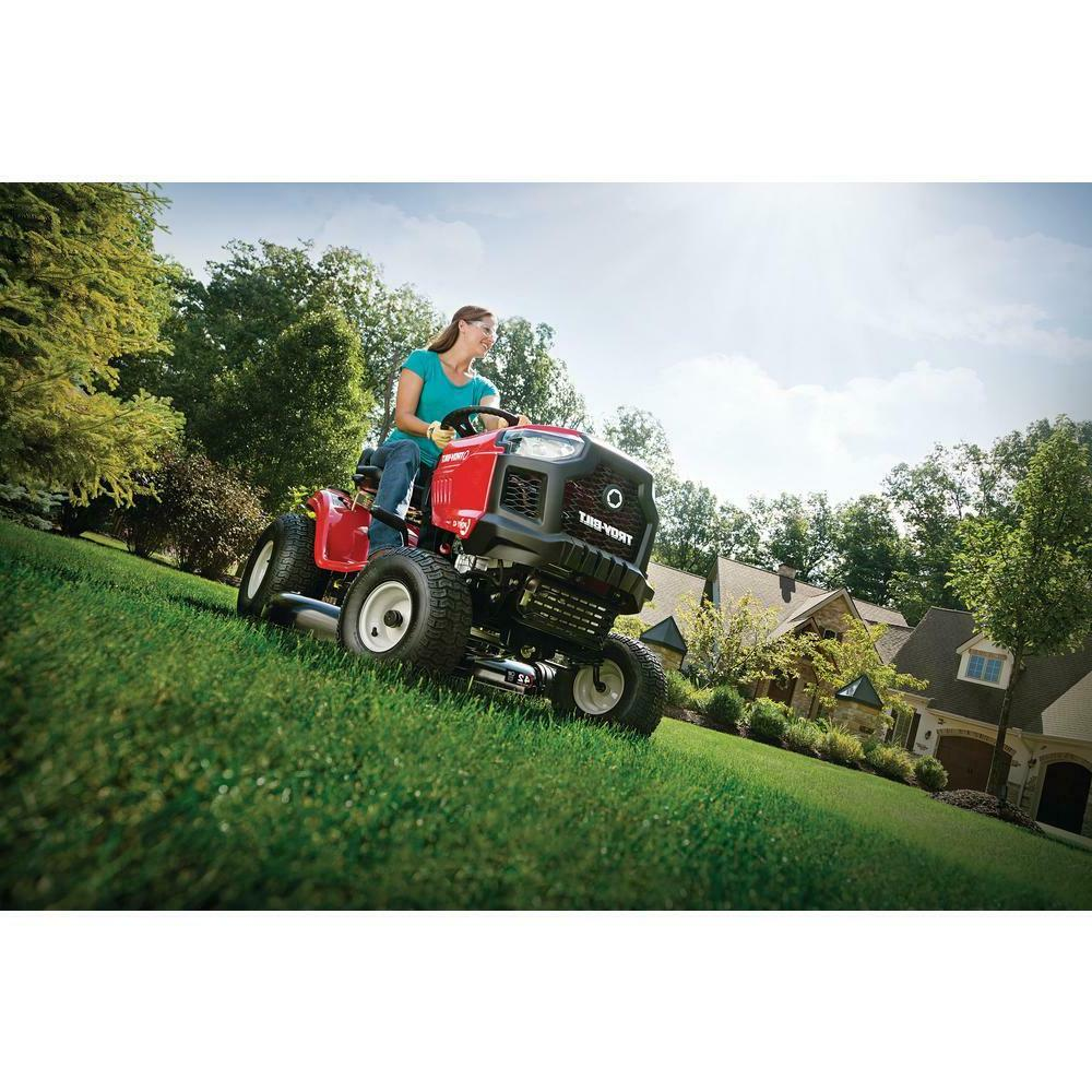 Troy-Bilt and Stratton Gas Tractor Riding