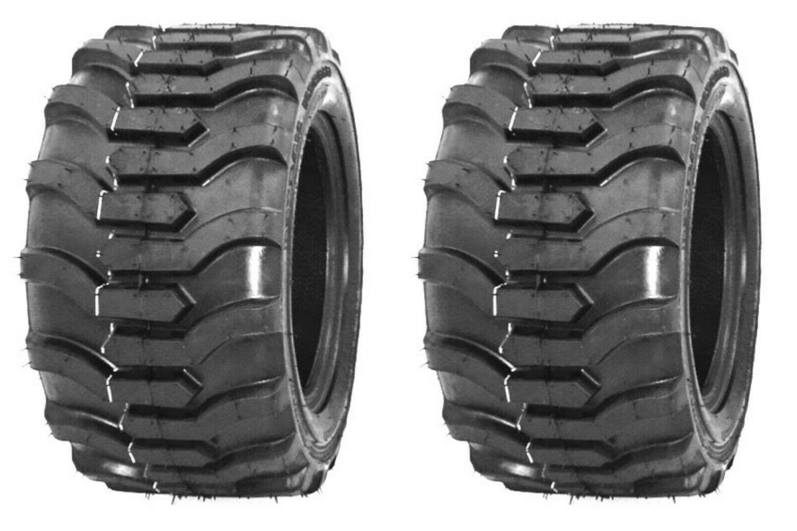 two 18x8 50 10 lug traction lawn