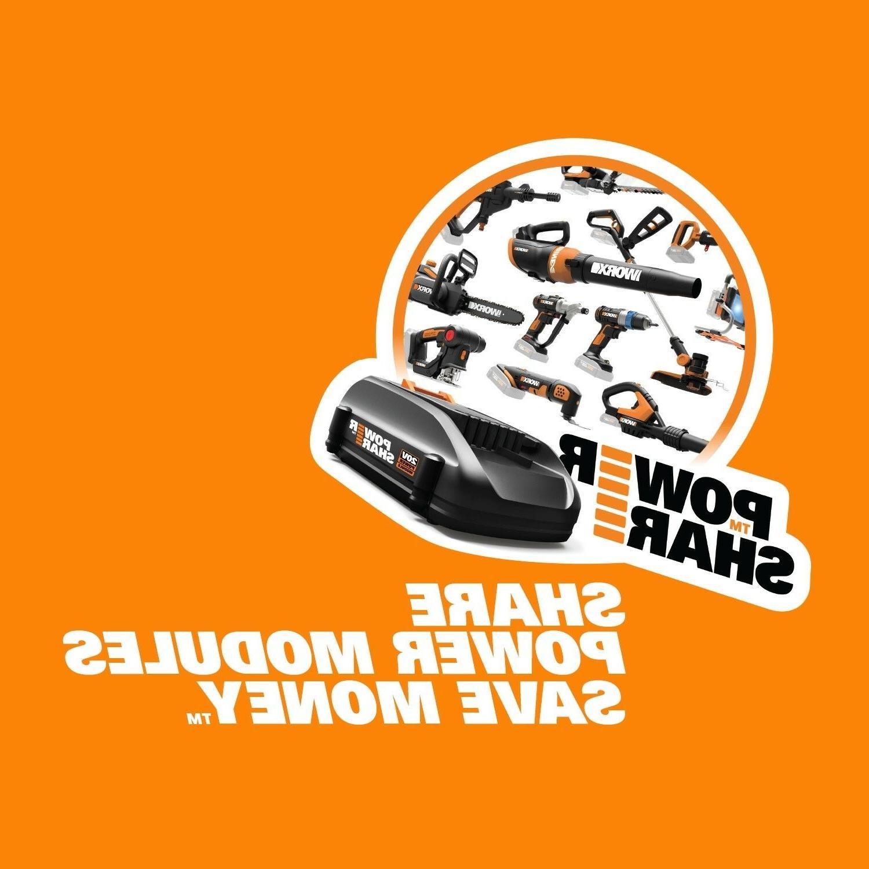 WORX WG91 Extra OFF 2X20V Mower & GT Trimmer &