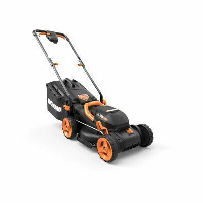 wg779 40 volt 14 inch electric lawn
