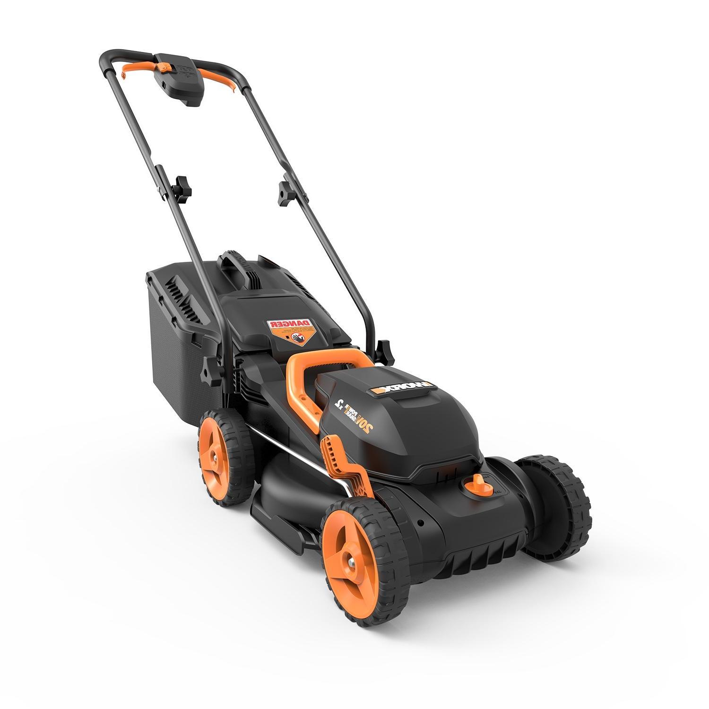 wg779 20v powershare13 cordless lawn mower