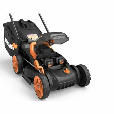 Worx 14 Inch Mower and Intellicut