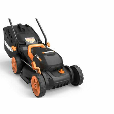Worx WG779 Volt 14 Electric Mower Mulching and Intellicut