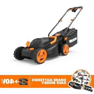 Worx Volt 14 Cordless Mulching Mower