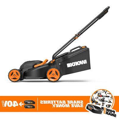 Worx WG779 40 14 Power Cordless Mower