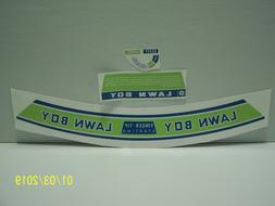 Lawn Boy Mower Model 7217 Made In 1967 New Decal Set !!!
