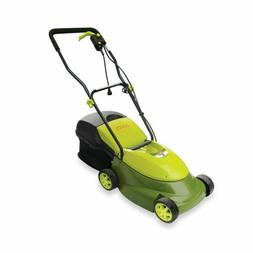 Sun Joe Lawn Mower 14in Electric Push Walk Behind Lightweigh