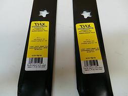 Lawn Mower Blade B1EP1010 set of 2 fit AYP 138498,127843,138