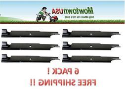 """Lawn Mower Blade Set 6 For Exmark Dixie Chopper Toro 60"""" Cut"""