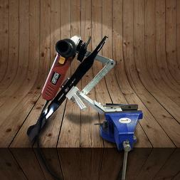 MB Machine Lawn Mower Blade Sharpener Adjustable for Mulchin