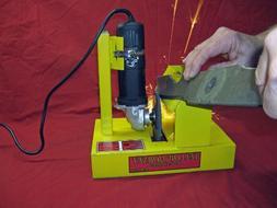 Yellow Hornet Lawn Mower Blade Sharpener/Grinder Motor NOT I