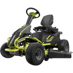 Lawn Mower Heavy Duty RYOBI 38 in. 75 Ah Battery Electric Re