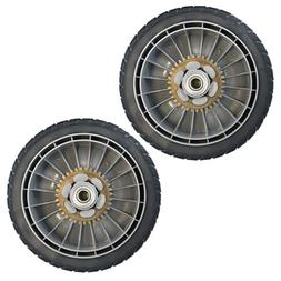Lawn Mower Rear Drive Wheels Assembly 8-inch Set of 2 Honda