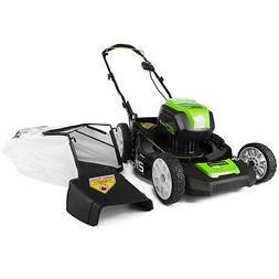 """GreenWorks 80-volt 21"""" Lawn MowerTool Only #2502202"""