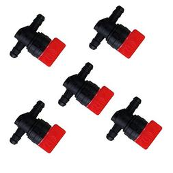 """FICBOX 1/4"""" In-Line Fuel Shut-Off Valve Replaces For Briggs"""