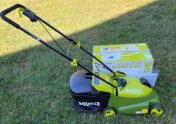 Sun Joe MJ401C 14-Inch 28-Volt Cordless Push Lawn Mower w/ B