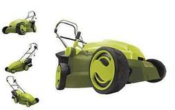 MJ402E Mow Joe 16-Inch 12-Amp Electric Lawn Mower + Mulcher