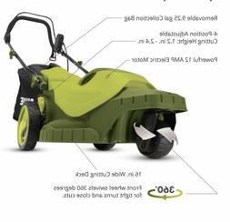 Sun Joe MJ404E-360 3 Wheel Electric Lawn Mower, 360 Degrees