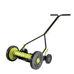 Sun Joe MJ503M Manual Reel Mower   14-Inch   Quad Wheel   9-