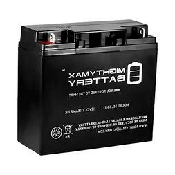 Mighty Max Battery ML18-12 - 12V 18AH New SLA AGM Battery fo