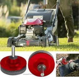 Mower Blade Drill Lawnmower Lawn Mower Sharpener For Power D