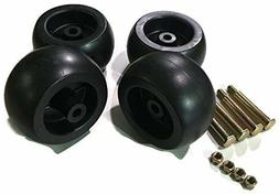 4 Pack Mower Deck Wheels Bolts Replacement for Cub Cadet RZT