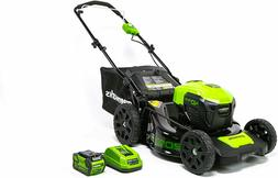 NEW 40V 20 in Cordless Lawn Mower with 4Ah Battery and Charg
